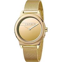 Đồng Hồ Nữ Thép Không Gỉ Esprit ES1L019M0085 - Vàng
