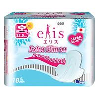 Băng Vệ Sinh Elis Extra Slim 0.1 RP 22.5 cm (18 Miếng / Gói)
