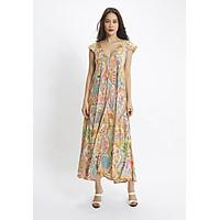 Đầm Maxi Họa Tiết Thổ Cẩm Luna Llena LN174SK956-PR