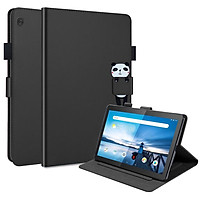 """Flip Case For  Lenovo Tab M10  (2020) 10.1"""" Casing Flexible Soft Silicone Premium PU Leather Wallet Shell Flip Cover with Card Holder Tablet Case"""