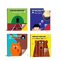 Combo Cuốn Sách Trong Suốt: Hình Dạng-Shapes + Khi Tôi Lớn Lên-When I Grow Up + Ôi Không-Oh No! + Giải Cứu Động Vật-Animal Rescue (Tặng Bookmark Thiết Kế Aha)