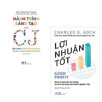 Combo 2 cuốn sách: Hành trình sáng tạo của CJ + Lợi nhuận tốt