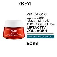 Kem Dưỡng Vichy Collagen Chuyên Biệt Dành Cho Cả Ngày & Và Đêm Cải Thiện Dấu Hiệu Lão Hóa Do Thiếu Hụt Collagen 50ml