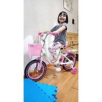 Xe Đạp Trẻ Em 12 , 14 , 16 inches Mẫu Mới 2020 Fulong Thiên Nga Vỏ Trắng ( Hàng Gửi nguyên hộp chưa lắp )
