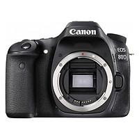 Máy Ảnh Canon 80D Body - Hàng Nhập Khẩu (Tặng Thẻ 16GB + Tấm Dán LCD)