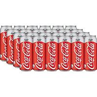 Lốc 24 Lon Nước Giải Khát Không Đường Coca-Cola Light 320mlx24