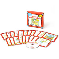 Scholastic Decodable Readers : Box Set Level C (Include 20 Books with CD)