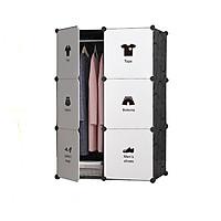 Tủ nhựa ghép 6 ngăn ( 74 x 47 x 110cm )