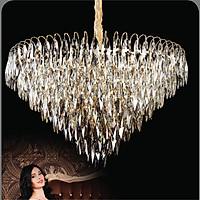 Đèn chùm pha lê cao cấp thiết kế sang trọng trang trí phòng khách, nhà hàng, khách sạn, quán cafe TPL-8173
