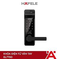 Khóa điện tử vân tay thân khóa lớn xuất xứ Hàn Quốc Hafele EL7700 - 912.05.584 (Hàng chính hãng)