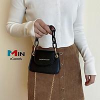 Túi đeo chéo nữ    Túi xách nữ mini dây xích SANG CHẢNH TD18