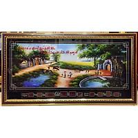 Tranh lịch vạn niên  Đồng Quê Việt Nam - MS341