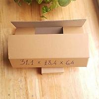 50 hộp carton / hộp giấy size: 31,1x18,4x6,4 cm