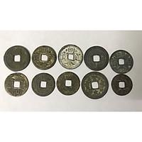 Combo 10 xu lỗ vuông cổ thời Vua Chúa XLCVC300
