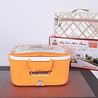 Hộp Cơm Điện Hâm Nóng Đa Năng ChefMan - Hộp Cơm Đa Năng+ Tặng Túi Đựng + Đũa Thìa, Dĩa