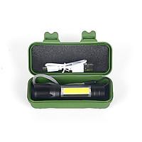 Đèn pin cầm tay mini, đèn pin tích điện siêu sáng