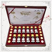 Bộ Sản Phẩm Hoàng Sâm Vàng Cao Cấp (Viên hoàn trầm hương hoàng đế +Hoàng Sâm cao cấp)