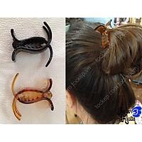 Kẹp tóc càng cua 3 răng 5 răng nhựa dẻo bẻ không gãy phong cách Hàn Quốc, bán lẻ rẻ như sỉ giá rẻ