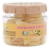 Gừng Sấy Dẻo Sữa Ong Chúa Hương Sen Việt