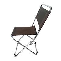 Ghế xếp inox loại nhỏ Thanh Long GXI-L03 35 x 30 x 65 cm (Vàng Đồng)