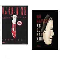 Combo Truyện Kinh Dị Hay: Goth - Những Kẻ Hắc Ám + Ác Quỷ Nam Kinh (tặng kèm bookmark thiết kế)