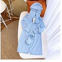 Áo chống nắng toàn thân - chống nắng tốt - bảo vệ da bé