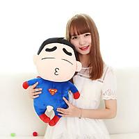Gấu Bông Shin Superman (35 Cm) Gb21 (Màu Xanh Dương Phối Đỏ)