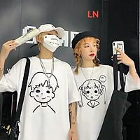Áo phông thụng con trai con gái L&N