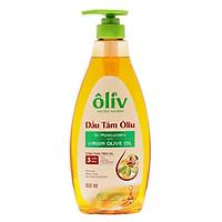 Dầu Tắm Ôliv Natural Nourish Virgin Olive Oil (650ml)