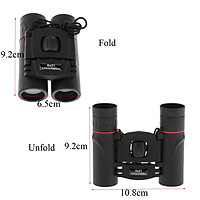 8x21 Compact Folding Binoculars Telescope for Adults Kids Bird Watching 131m/10000m for Outdoor Birding, Travelling, Sightseeing, Hunting