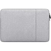 Túi Chống Sốc Laptop Macbook 13.3 inch Chống Nước, Chống Va Đập, Ma Sát (Màu Xám)