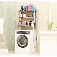 Kệ tiện lợi để máy giặt Inox