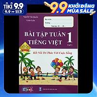 Bài Tập Tuần Tiếng Việt Lớp 1 Tập 1 QB