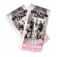 Hộp Postcard Blackpink kill this love ver mới