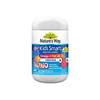 NATURE'S WAY Kids Smart Burstlets Omega-3 Fish Oil Trio 180 Capsule Australia