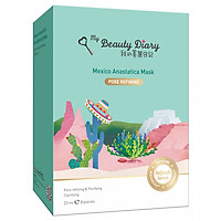 Hộp 8 Miếng My Beauty Diary - Mặt Nạ Mexico (Xanh Nhạt) - Hàng Nội Địa Đài Loan