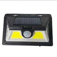 Đèn năng lượng mặt trời MIN-3.10, Ba mặt sáng tích hợp cảm biến bật tắt 2 LED COB