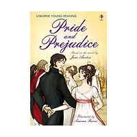 Sách - Usborne Young Reading Series 3 - Pride and Prejudice by Jane Austen - (UK Edition, paperback)