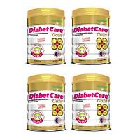 Bộ 4 Lon Sữa Bột NutiFood Diabet Care Gold Lon 900g Cho Người Tiểu Đường, Đái Tháo Đường Và Tiền Đái Tháo Đường