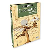 Bộ xếp hình DIY mô hình CHIẾC MÁY BAY chính hãng SASSI 3D PUZZLE LEONARDO DA VINCI THE FLYING MACHINES