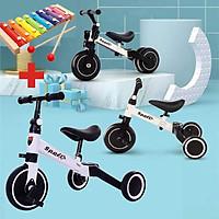 Xe thăng bằng - xe đạp 3 bánh đa năng cho bé. Xe thăng bằng có bàn đạp kết hợp xe chòi chân Sport cho bé - TẶNG KÈM ĐÀN XYLOPHONE 8 THANH CHO BÉ