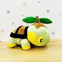 Gấu Bông Pokemon - Rùa Cỏ Turtwig (30 Cm) Gb221 (Tặng 1 Móc Khóa Dây Da Pu Đính Đá Lấp Lánh)