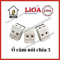 Ổ Cắm Nối Chia 3 Lioa, Phích Cắm 1 ra 3 Lioa - MITA