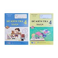 Combo Sách - Đề kiểm tra Toán 4 học kì I + II