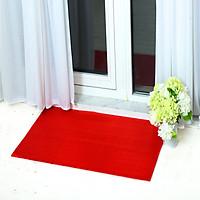 Thảm nhựa chống trơn trượt khổ 1m2 màu đỏ sử dụng lót sàn xe, khu vực dầu mỡ, dễ trơn trượt, hồ bơi, toilet, sân ướt (Hàng Việt Nam)