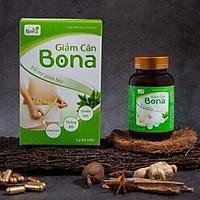 Thực phẩm bảo vệ sức khỏe giảm cân Bona (60 viên/hộp) - Hỗ trợ giảm cân, giảm thèm ăn