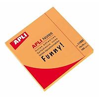 Bộ 2 APLI_Giấy Note 75X75 Cam_11900