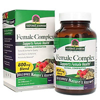 Nature's Answer Female Complex | Dietary Supplement | Supports Female Health | Vegan & Kosher Certified | Vegetarian Capsules 90ct.