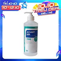 Nước rửa tay sát khuẩn nhanh  diệt khuẩn ALFASEPT MED 500ml - Theo chuẩn WHO