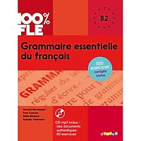 Sách học tiếng Pháp: Grammaire essentielle du francais : Livre + CD B2